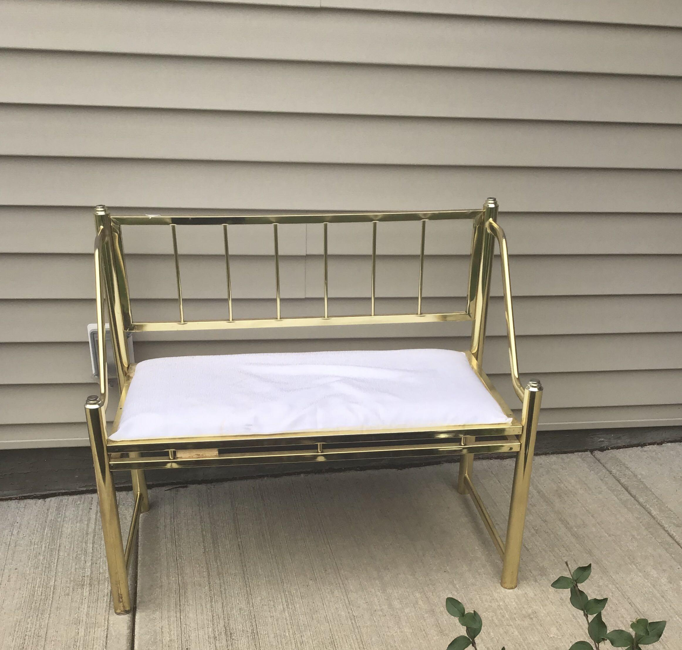 Gold chair for sale
