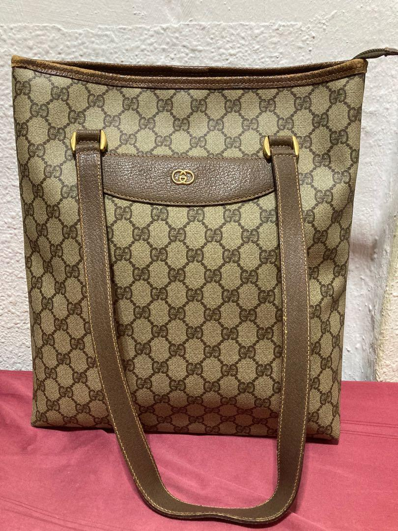 Gucci Handbag ( vintage tote bag) 💯 authentic
