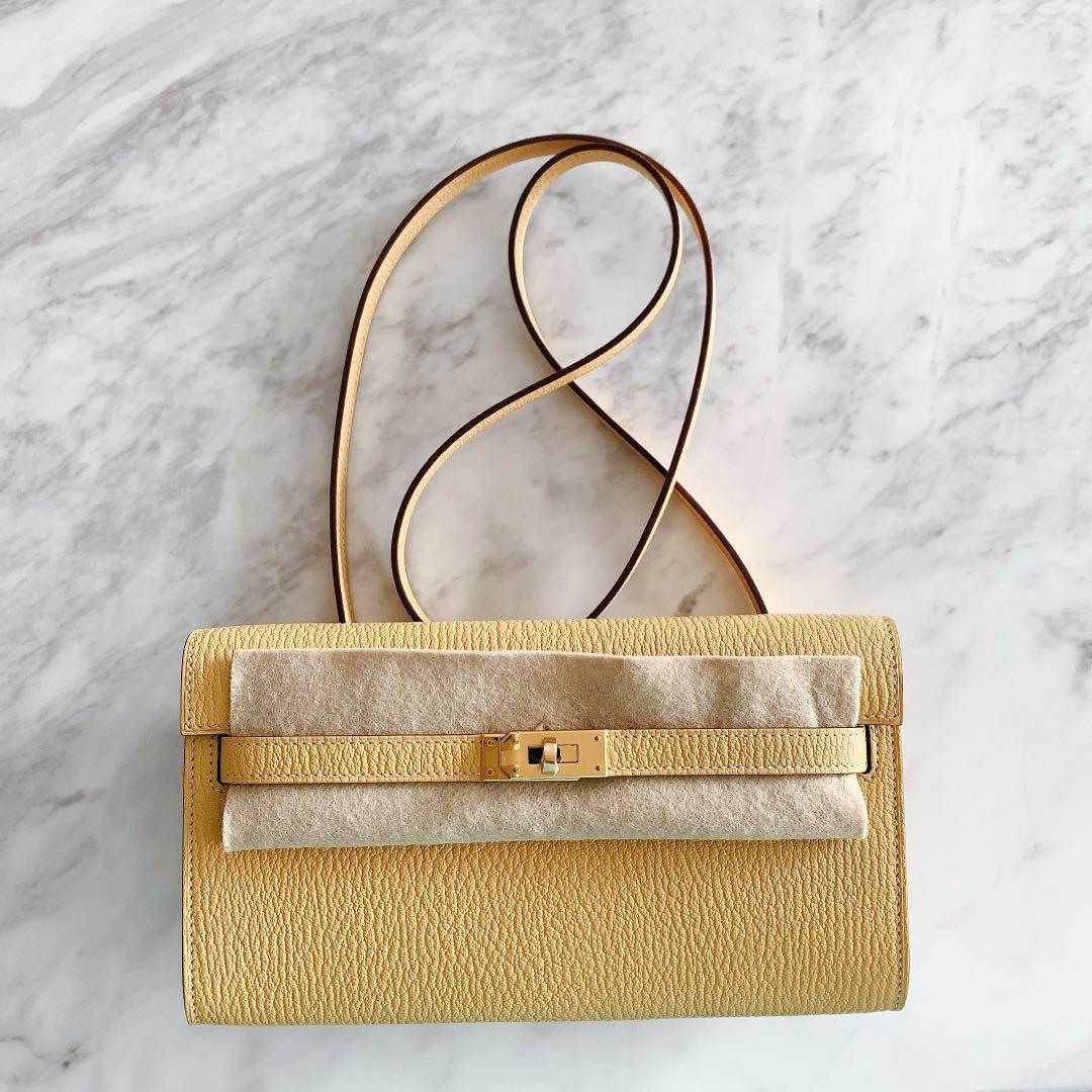 Hermes Kelly To Go Wallet Bag
