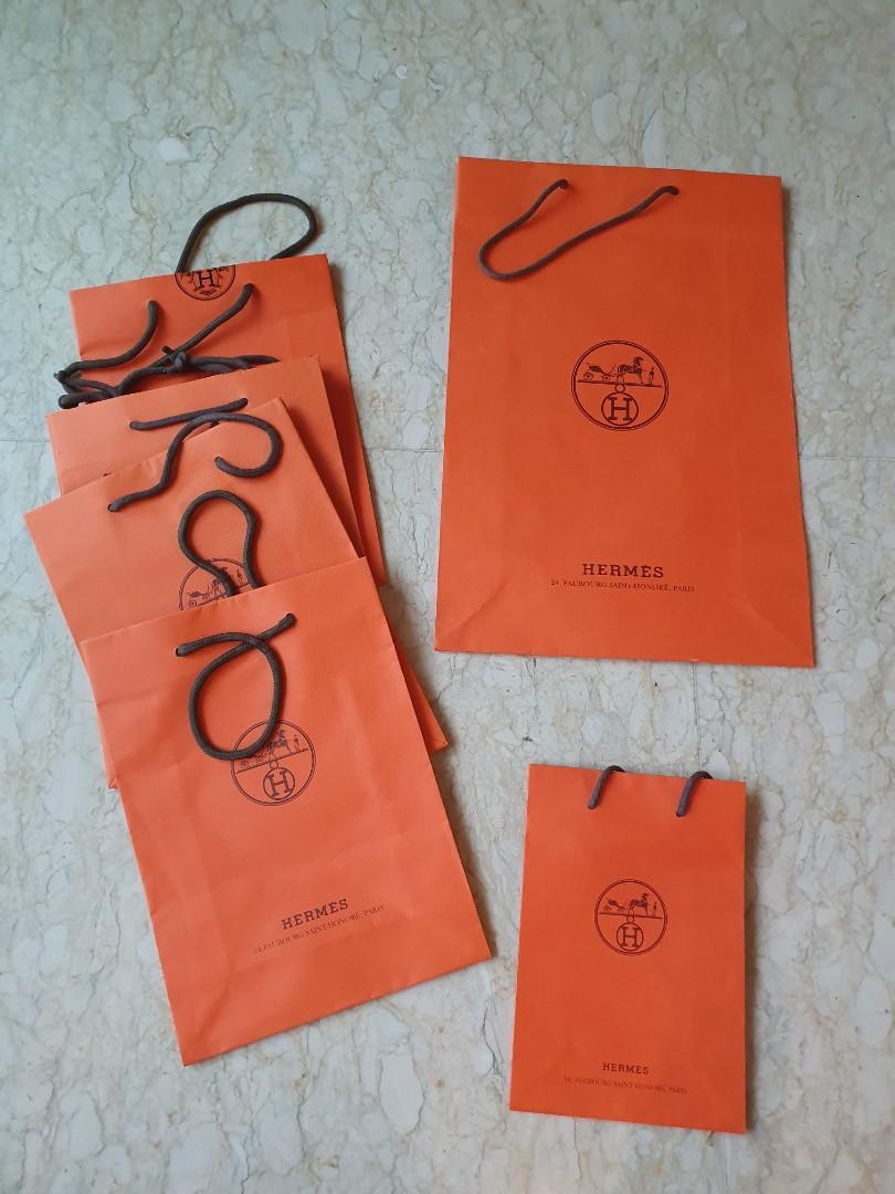 Hermes paperbags