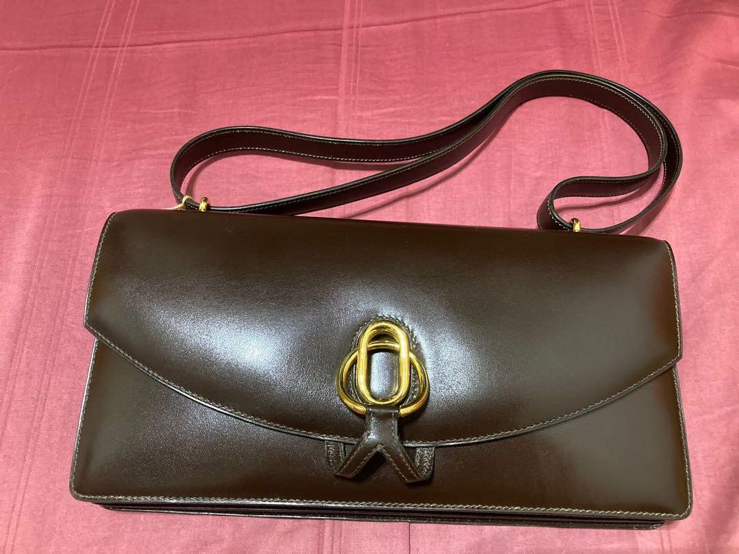 Hermes vintage shoulder handbag (sac baguenadier) 💯 authentic