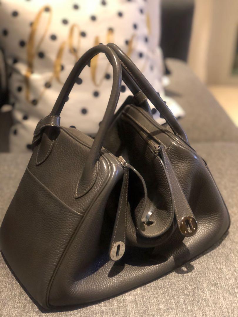 Hermès lindy 30 - graphite