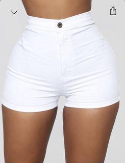 high waisted fashinova denim shorts