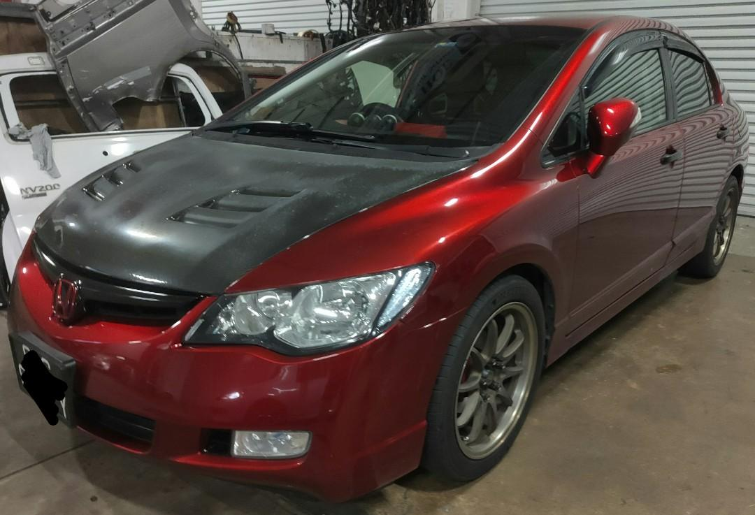 Honda civic 1.8A for rent ( tuned up)