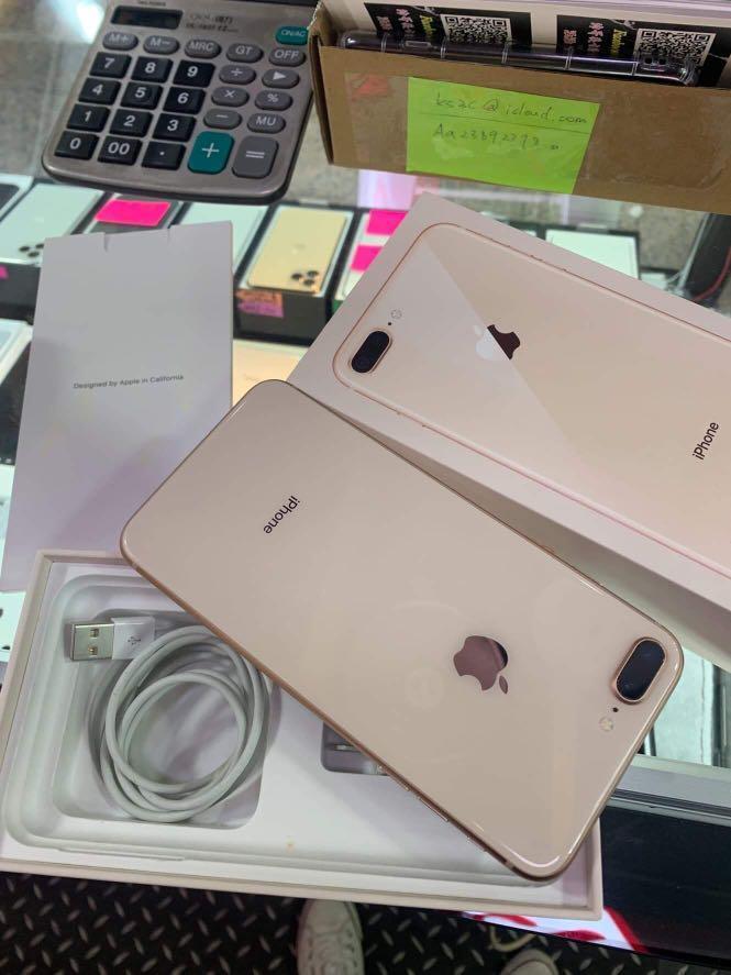Iphone8 plus 256G!!! 接近全新