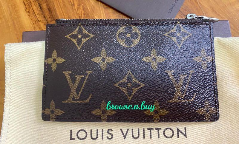 LOUIS VUITTON (LV) Limited Edition Monogram Tribal Mask Pochette Cles Key and Change Holder