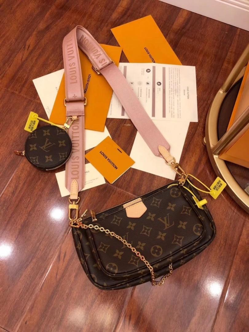 Louis Vuitton mutil pochette cross body pink