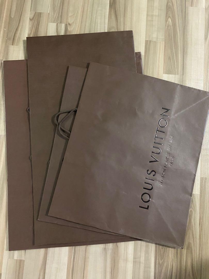 Louis Vuitton Paper Bags