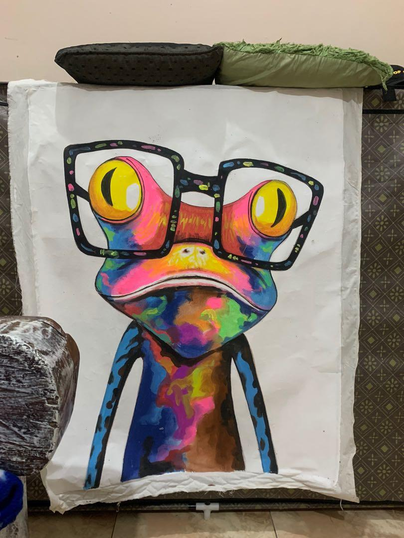 Lukisan Gecko