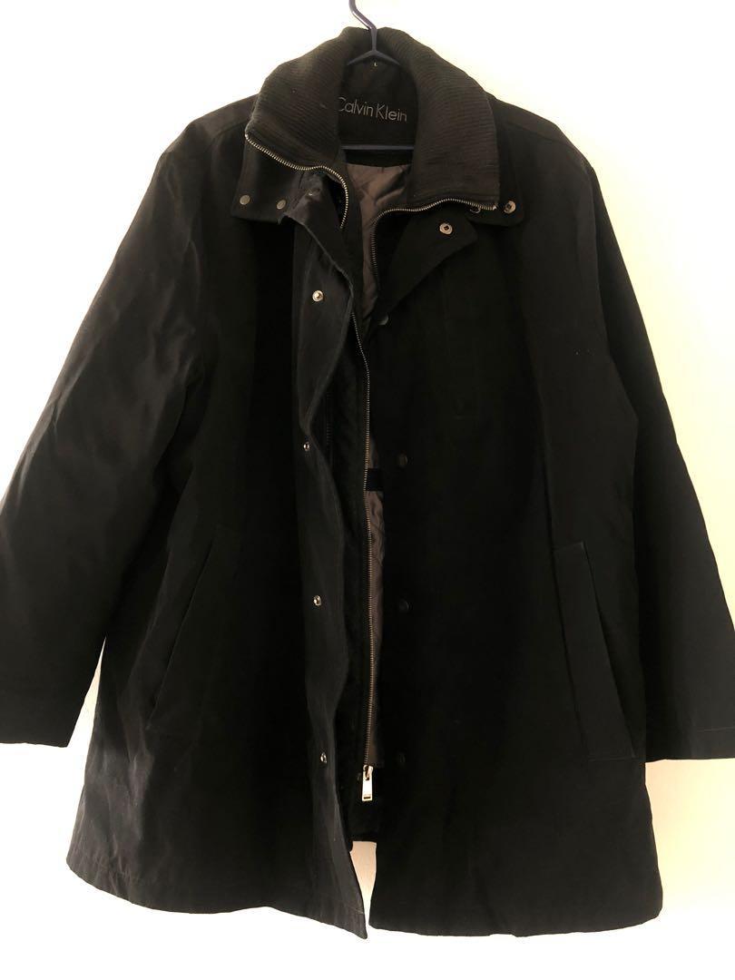 Men's Calvin Klein large winter jacket