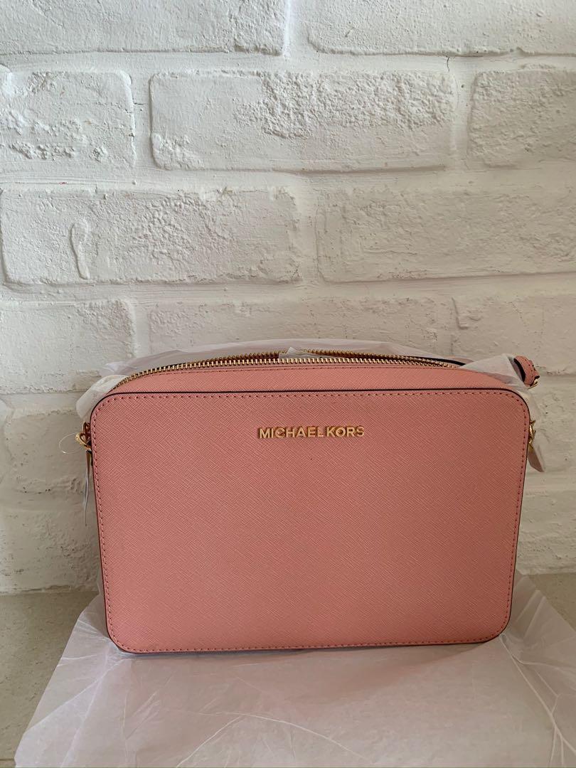 Michael Kors Pale Pink Sling Bag