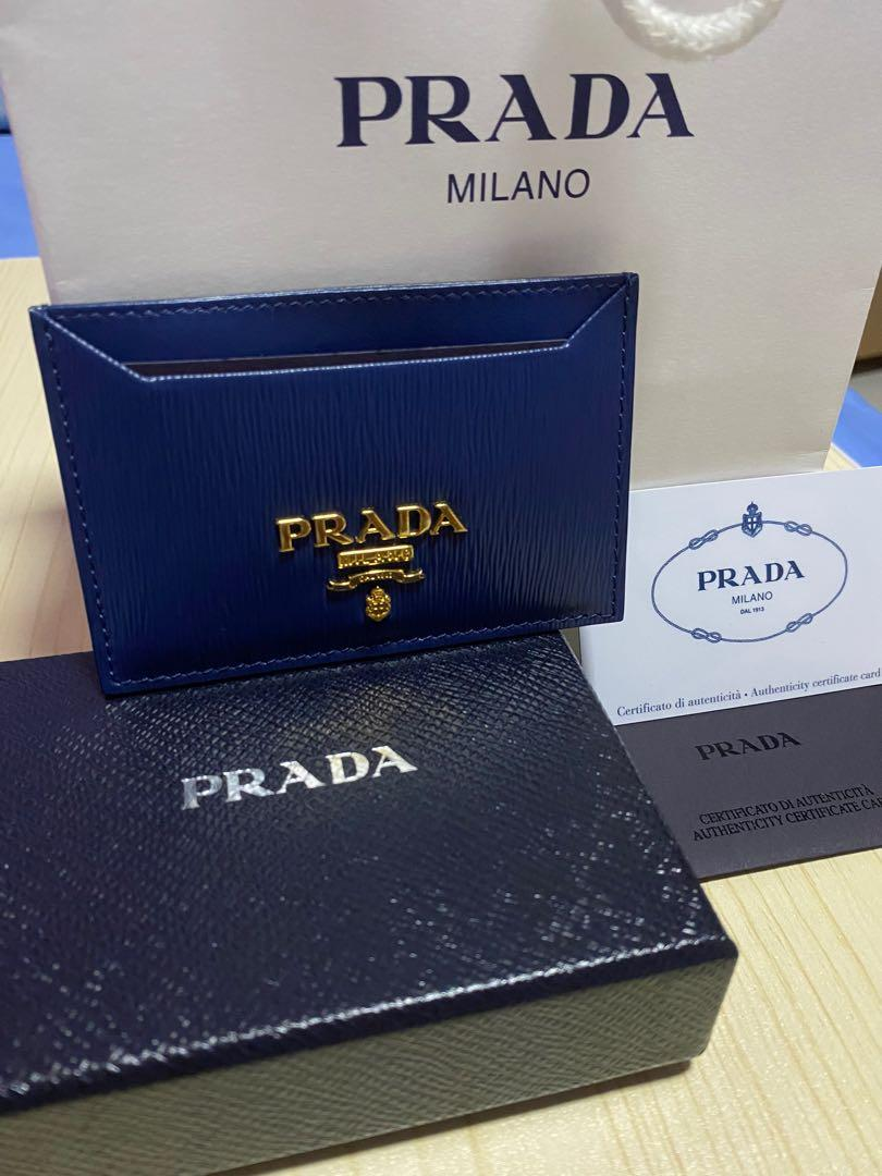 New ! Authentic Prada Card Holder
