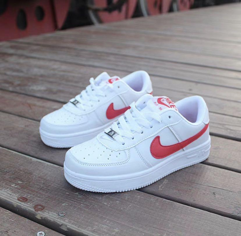 nike airforce 1 shadow red