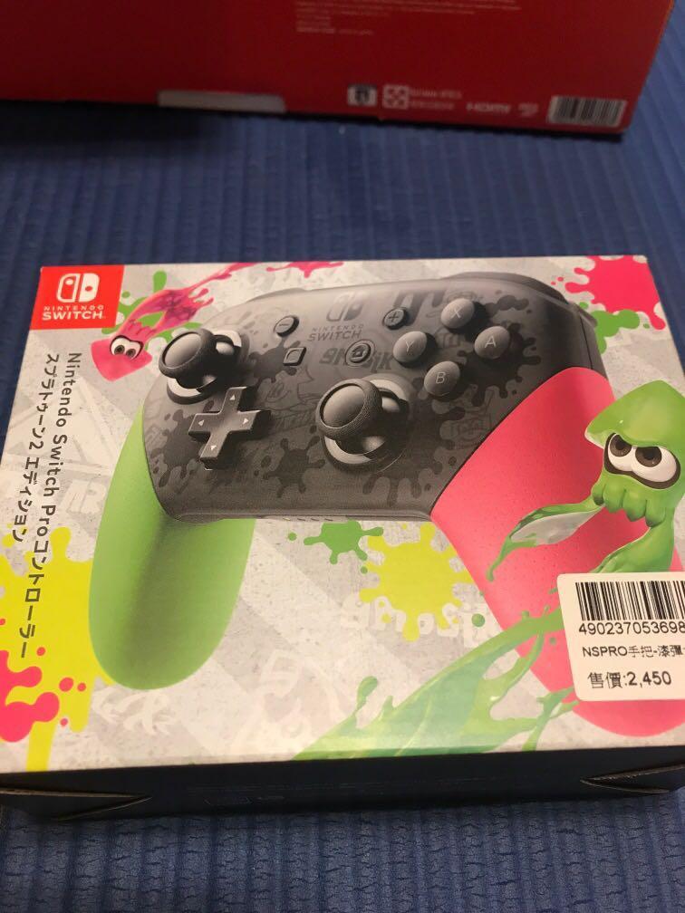 Nintendo Switch Pro手把 漆彈大作戰2