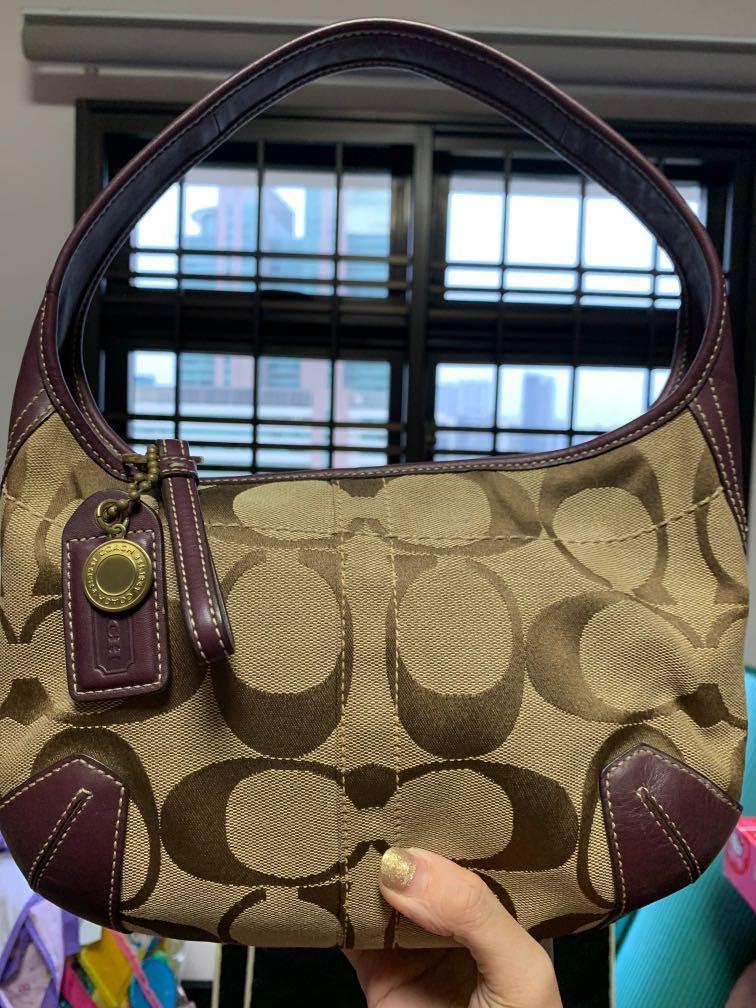 Old gen COACH handbag!!