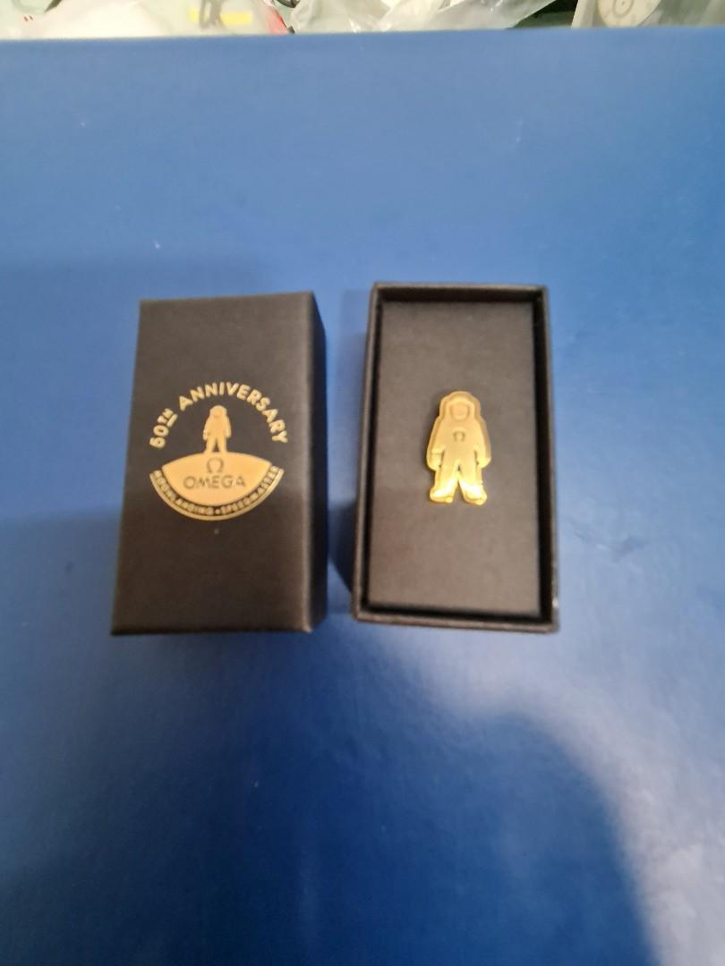Omega Apollo 50th annivesary collar pin