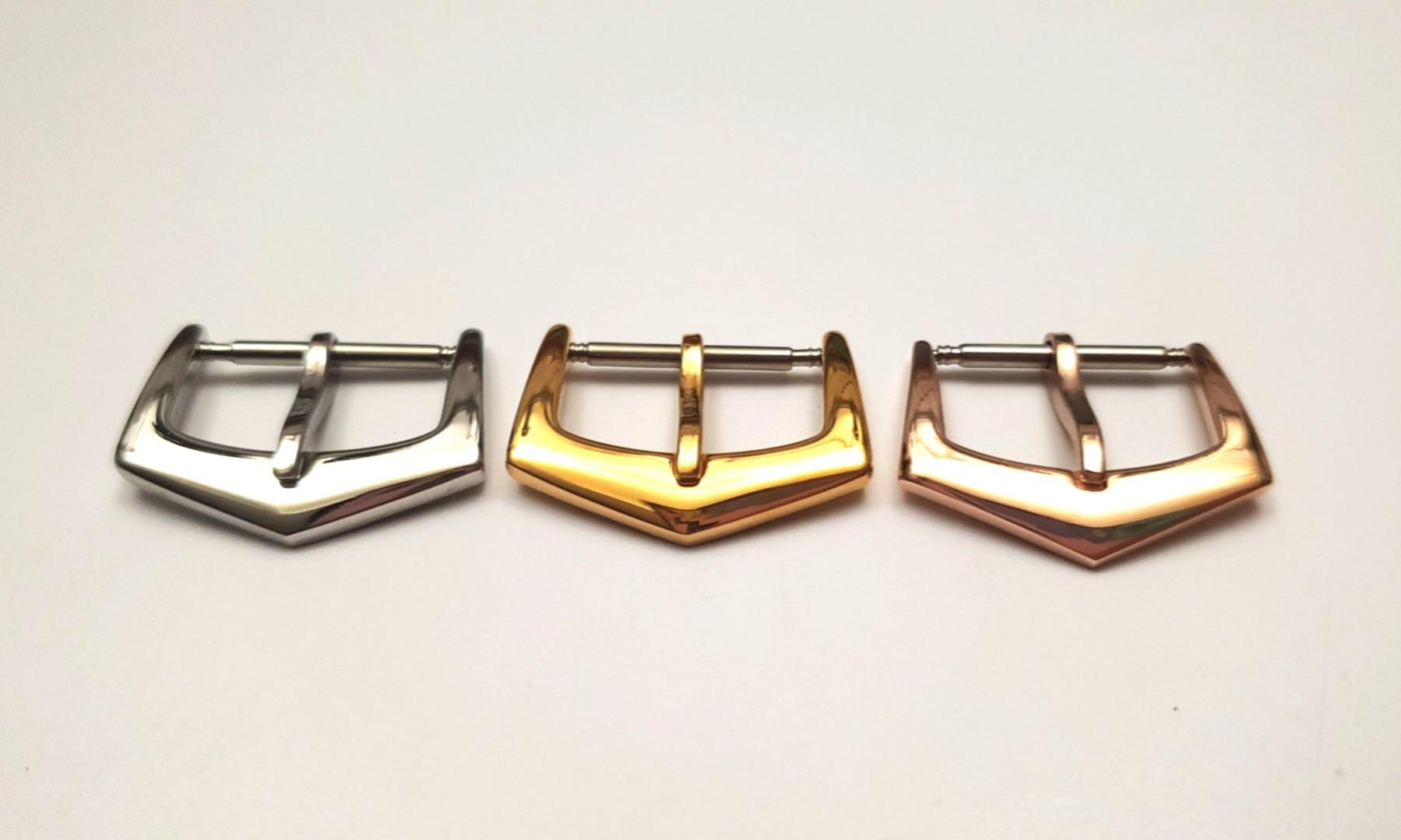 Patek Philippe PP 18mm Silver/ Gold/ Rose Gold Watch Buckle