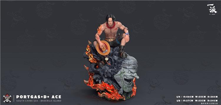 [PO]ONE PIECE: PORTGAS D. ACE FIGURE STATUE YP Studio