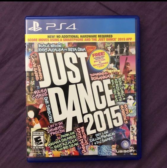 PS4 Just Dancce2015