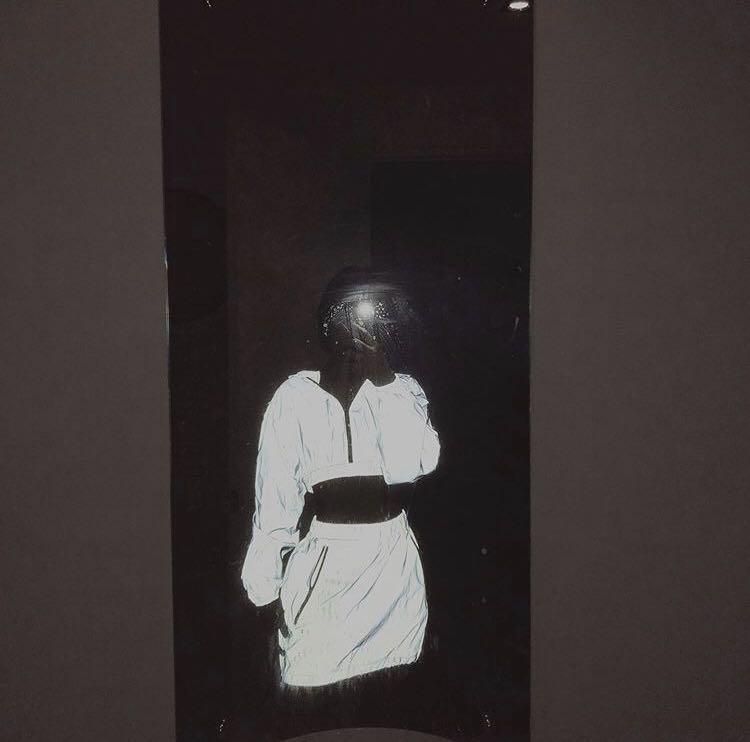 Reflective skirt set