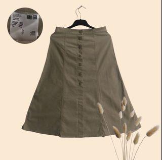 Rok/skirt beige Uniqlo