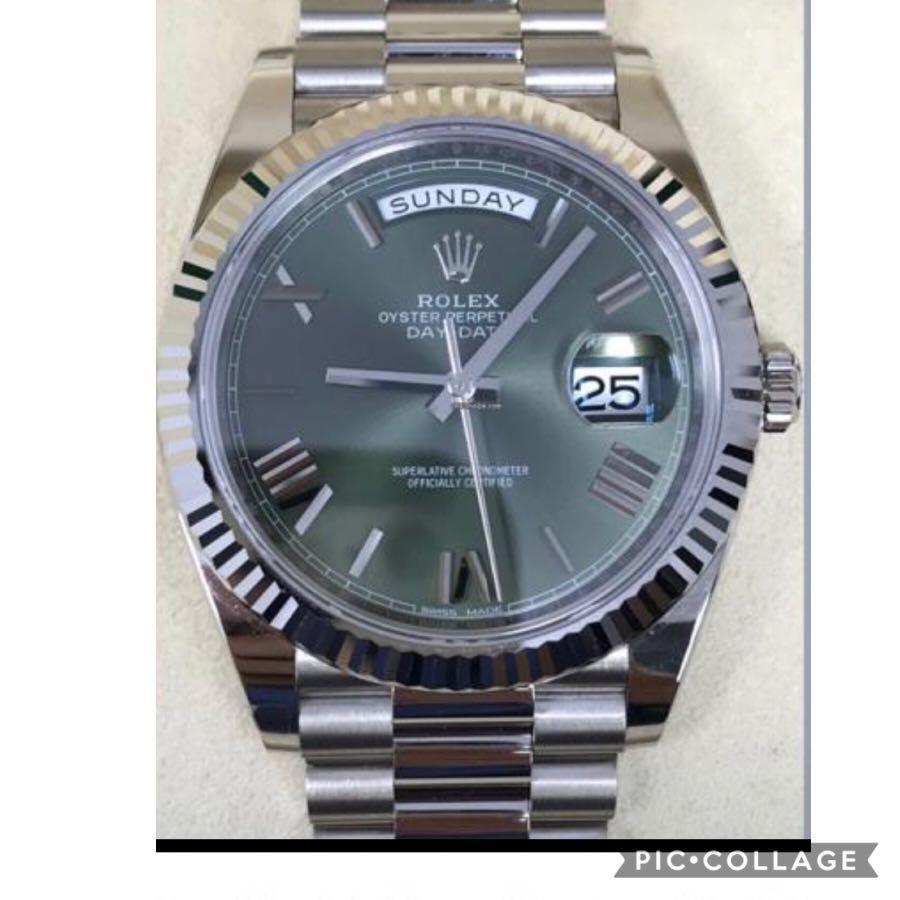 Rolex 228239 Day-Date Olive Green 40