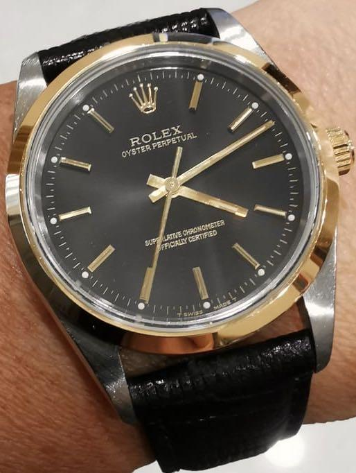 Rolex Oyster Perpetual 14203 Half Gold