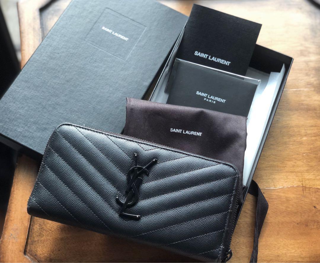 Saint Laurent Wallet Authentic