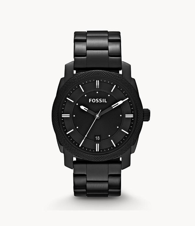 [SALE] Fossil FS4775 Machine Black Stainless Steel Watch