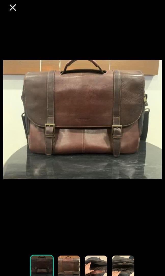 Samsonite Colombian Leather Flap-Over