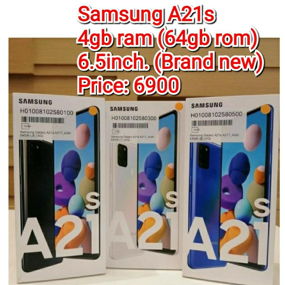 Samsung A21s   64gb rom  Brand new