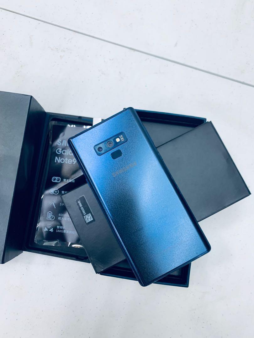 Samsung Galaxy Note 9 128G藍色