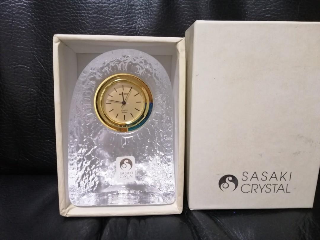 Sasaki Crystal clock