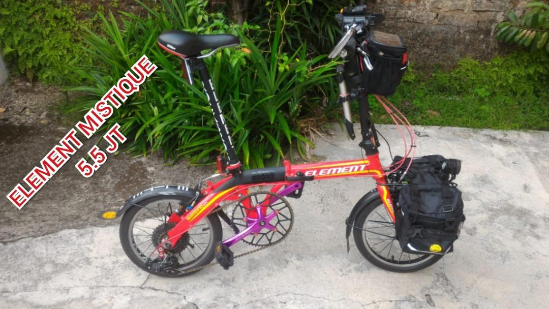 Sepeda lipat strida,element mistique,element ecosmo