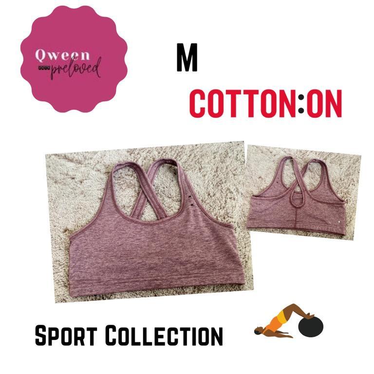 Sport bra cotton on