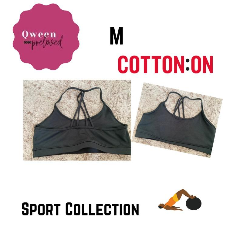 sport bra cotton on