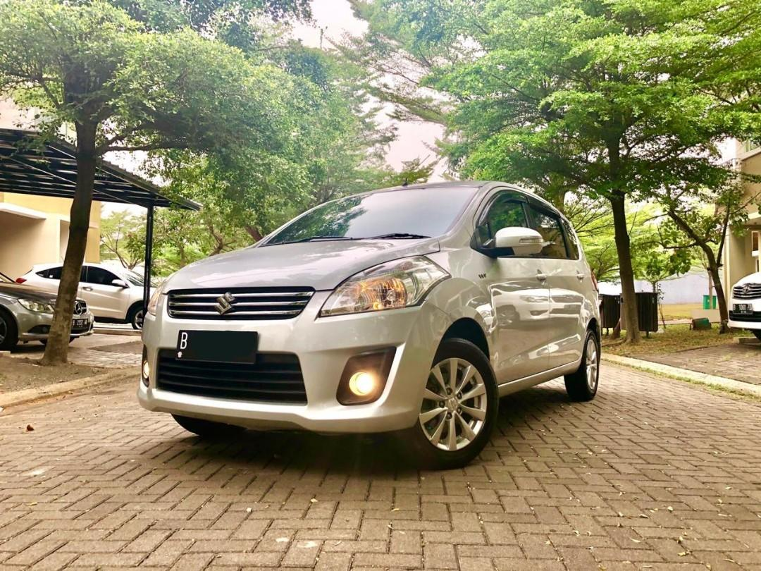 Suzuki Ertiga GX AT 2013 Silver