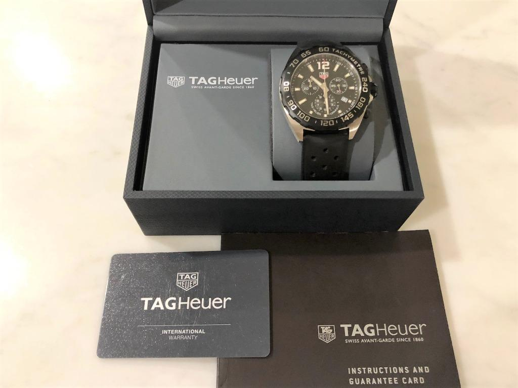 TAG HEUER F1 Quartz Chronograph Watch (Reference: CAZ1010.FT8024)