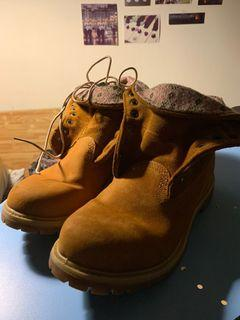 Timberland Roll Top Snowflake Wheat