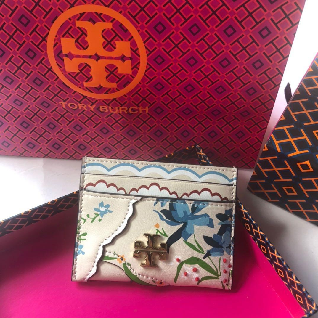 ToryBurch KIRA MIXED FLORAL CARD CASE