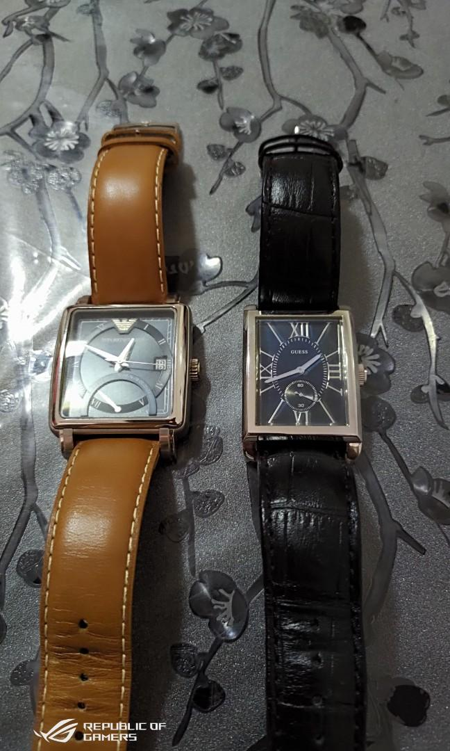 Two designer watch to let go