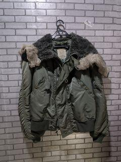 U.S. army flight bomber jacket oversized