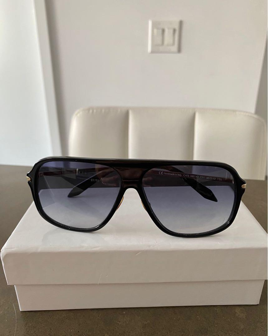Victoria Beckham Fine Navigator Sunglasses - Retail for $420