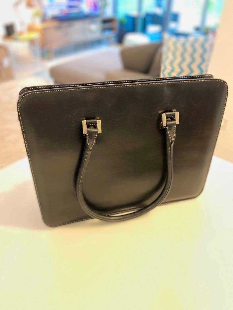 Women's Aspinal of London laptop briefcase