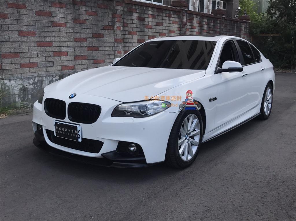 2015年 528I白 FB收尋 馬力歐汽車派對 中古車/二手車