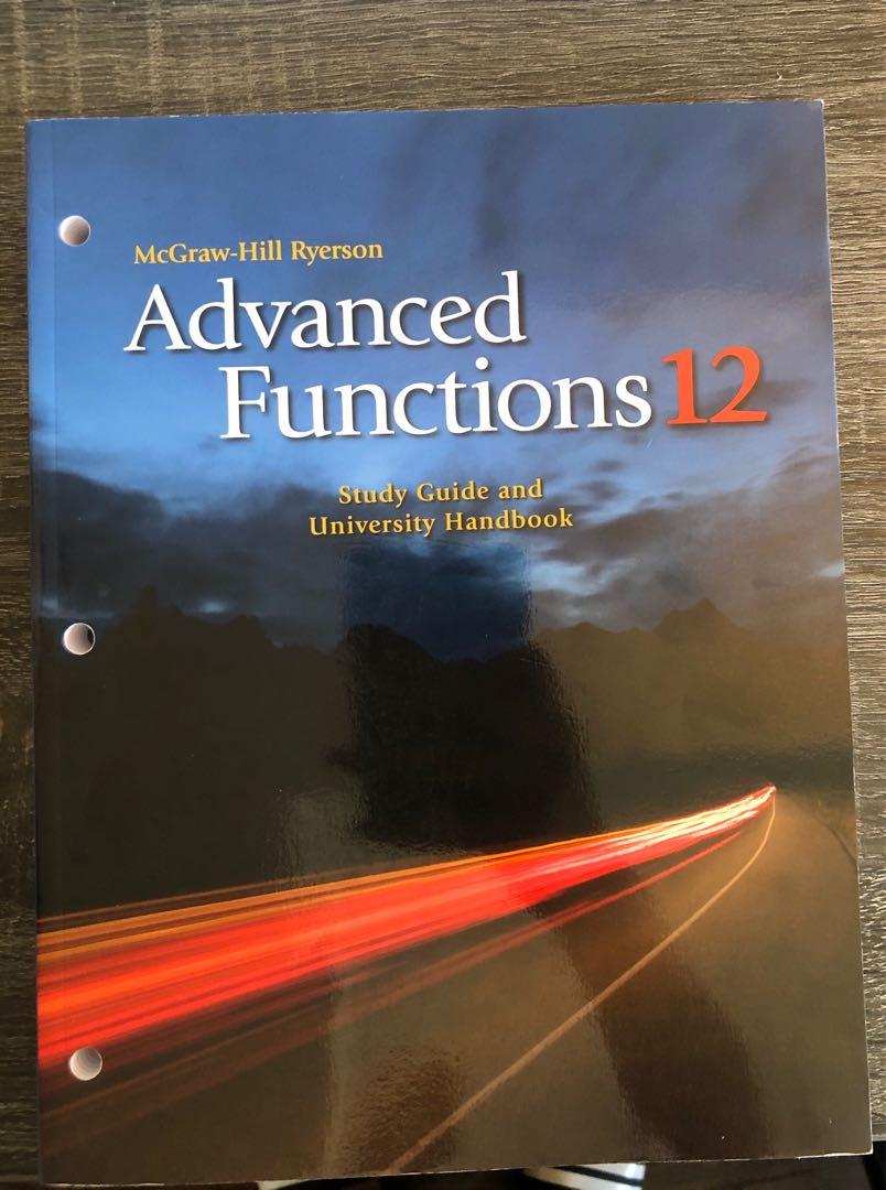 Advanced Functions Gr. 12 Workbook