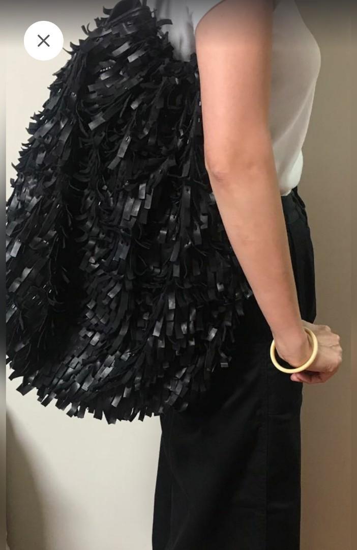 酷💟名品Anteprima全手工真皮編製大容量包包,購自歐洲,正品有塵袋,有使用痕跡
