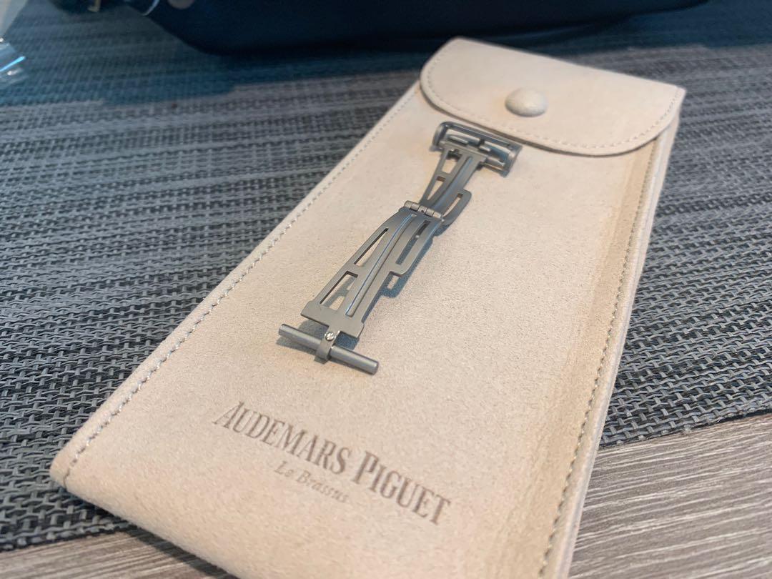 Audemars Piguet Offshore Titanium Deployment Clasp