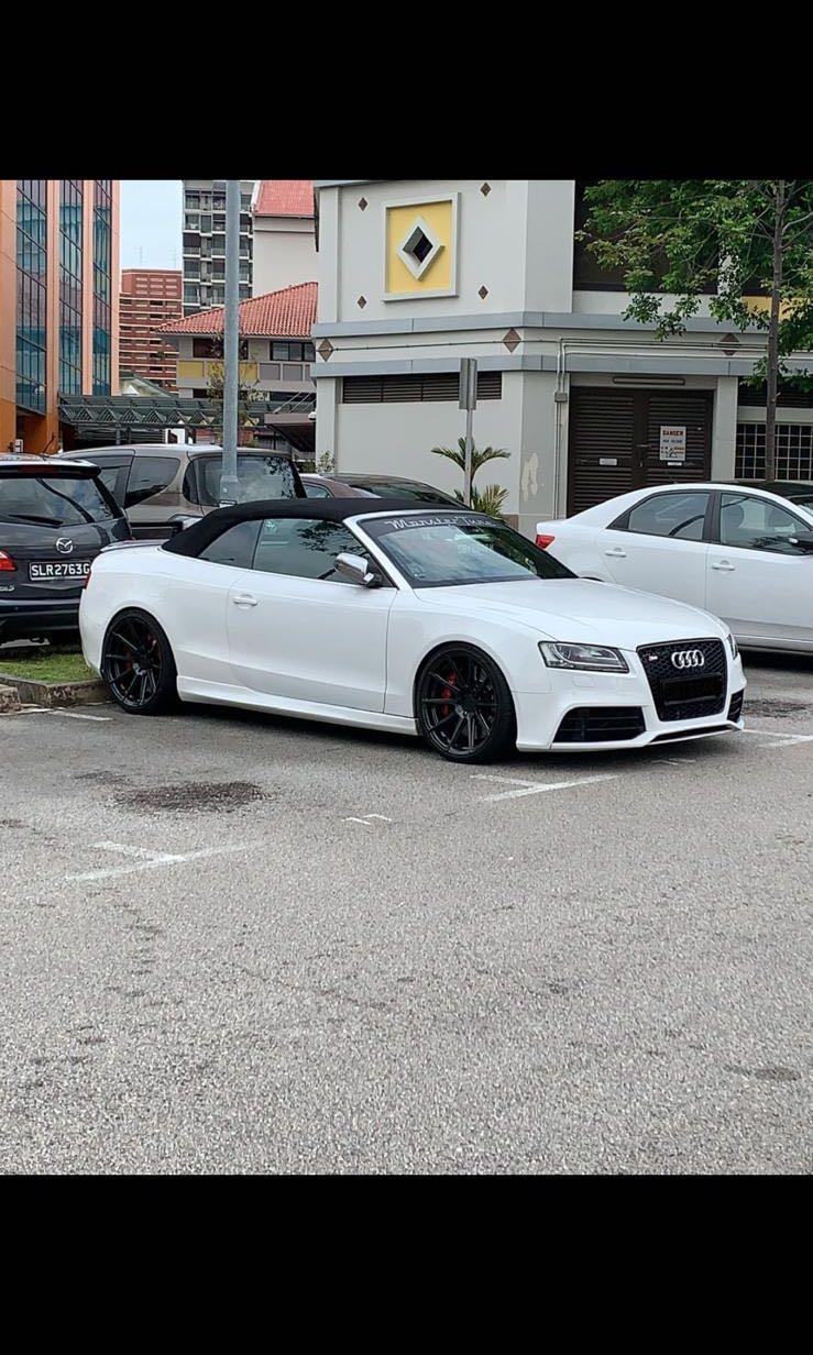 Audi S5 Cabriolet 3.0 TFSI quattro S tronic DSG (A)