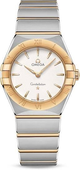 Authentic 13120286002002 - OMEGA Mod. COSTELLATION Lady Watch